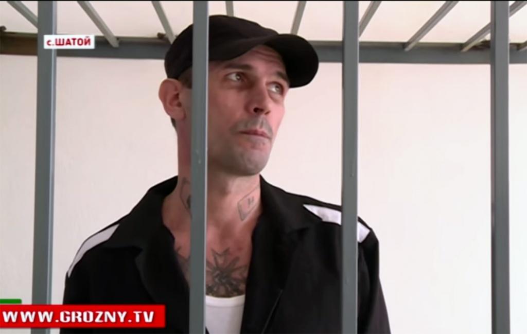 Александр Малофеев в Шатойском районном суде Чечни, 23 сентября 2015 года